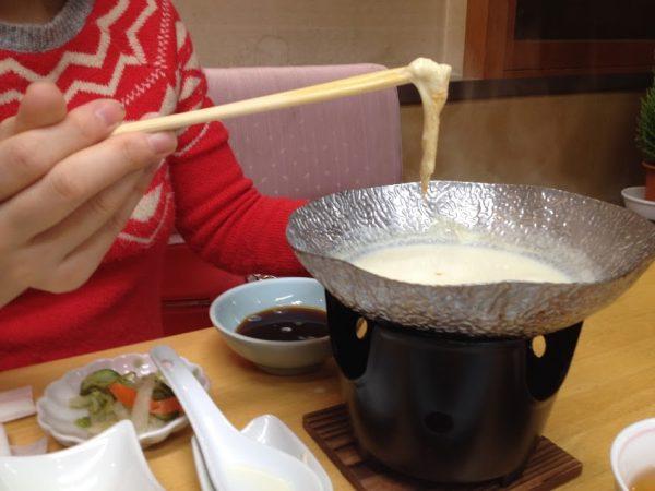 三朝温泉 朝食
