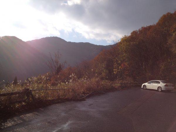 景色のいい佐谷峠